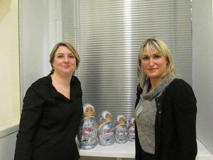 Géraldine Chachourine (à gauche) et Blandine Vignals respectivement directrice de production et directrice commerciale de Step Travel - Photo M.S.