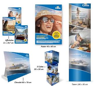 Le kit pour les agences de voyages - DR