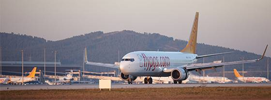 Pegasus a vu le nombre de passagers transportés augmenter de plus de 17 % en 2014 - DR : Pegasus Airlines