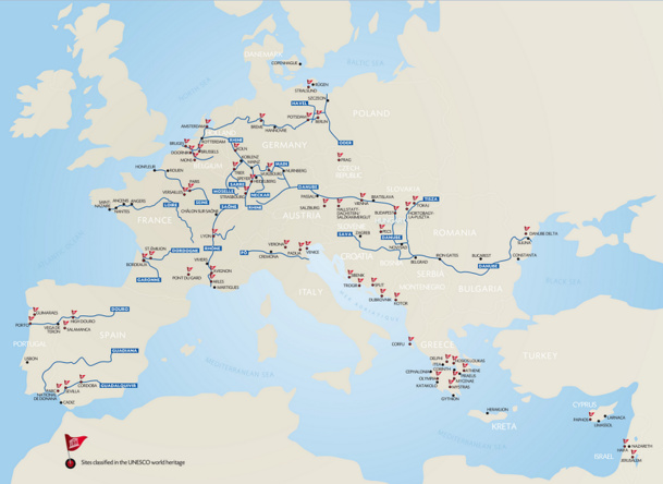 Source : CroisiEurope. Cliquez ici pour agrandir la carte.