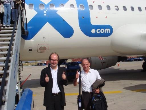 Laurent Magnin, Pdg de XL Leisure group France et Xavier de Neuville, Pdg de Vacances Héliades