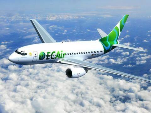 Jusqu'au 1er juin 2015, ECAir volera entre Brazzaville et Dakar en B757 - Photo ECAir