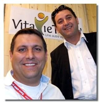 Ludovic Rey-Robert et Raynald Servain, co-fondateurs de Vitavietravel.com