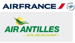Air France : 6 nouvelles destinations caribéennes grâce à un code-share avec Air Antilles