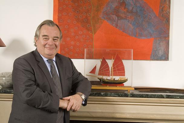 Jean-Paul Chantraine, le PDG d'Asia veut développer les ventes sur l'Australie et le Pacifique. DR