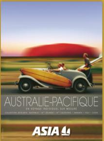 La nouvelle brochure Australie Pacifique - DR : Asia