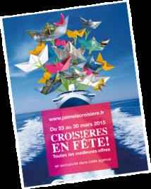 Affiche Croisières en Fête 2015 - DR : CLIA France