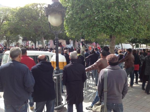 Des concerts sont organisés rue Bourguiba, à Tunis - Photo S.J.A.