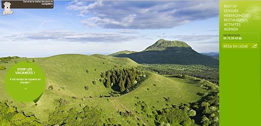 Les professionnels du tourisme d'Auvergne sont globalement satisfaits de leurs activités pendant l'Hiver 2015 - Capture d'écran