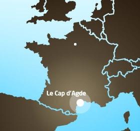 Le Cap d'Agde fait sa promo en Scandinavie