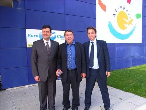 Sylvain AMMAR (New Axis), Philippe SALA (Eurociel); Ruppert SCHMID (Véolia Transports)