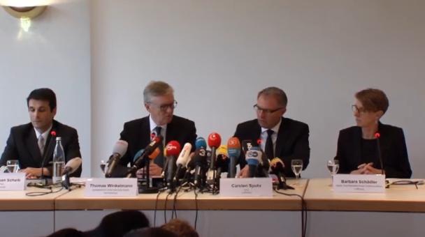 Carsten Spohr, PDG de Lufthansa donne une conférence de presse en Allemagne - DR