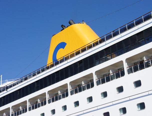 """Le nouveau message revient """"aux fondamentaux"""" de la compagnie avec comme slogan : """"Comment dis-on Vacances en Italien ? Costa"""" - Photo CE"""