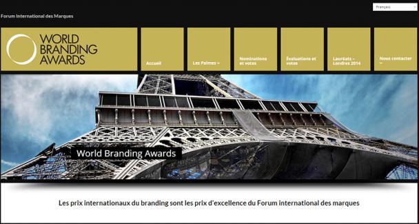 Le Club Med récompensé dans le cadre des World Branding Awards 2015 - Capture d'écran