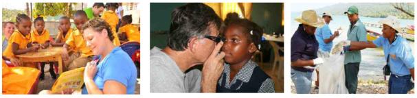 De nombreuses personnes et de nombreuses écoles bénéficient de l'action de la Fondation Sandals depuis 6 ans - DR : Sandals Foundation