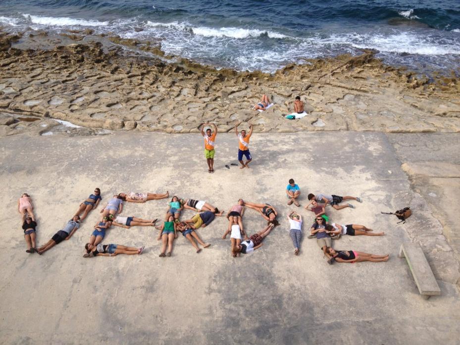 """Au bord de la mer, ici Malte, un """"classique"""" du séjour linguistique - DR : Verdié Voyages"""