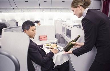 Un vol hebdomadaire sera assuré par un B777-200 avec la nouvelle cabine Best&Betond à partir du 13 juillet 2015 - Photo Air France