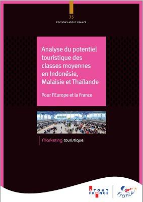 Couverture de l'étude d'Atout France sur le potentiel des marchés d'Asie du Sud-Est - DR : Atout France