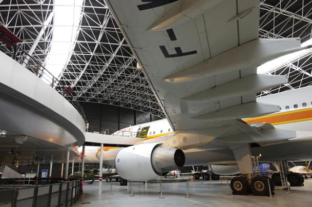 Manatour a hérité de la gestion du musée de l'aviation Aeroscopia, pour une durée de 6 ans - DR : Manascopia