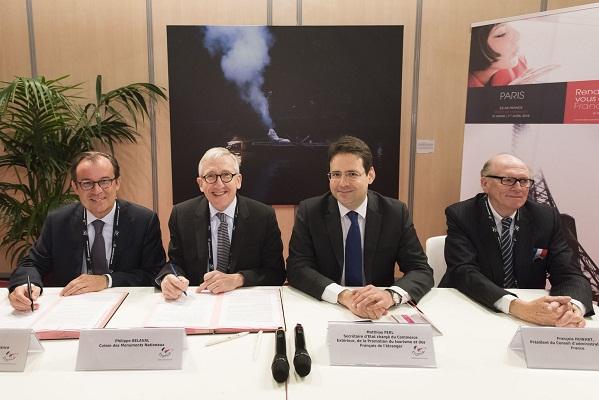 L'accord a été signé ce mercredi 1er mai 2015 dans le cadre du salon Rendez-vous en France - Photo : CedricHesly - Atout France
