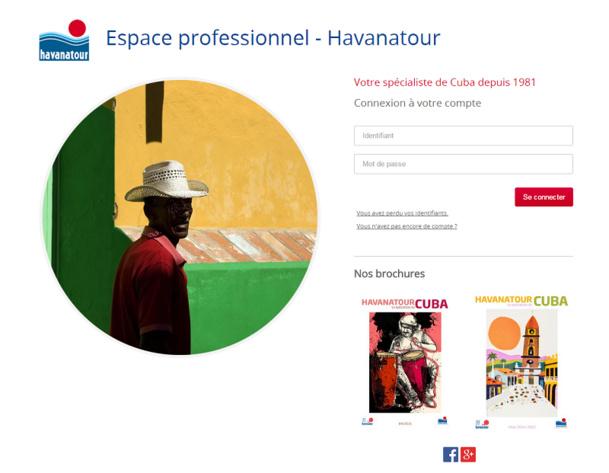 Havanatour lance son nouveau site B2B, entièrement refondu. Les circuits du catalogue y seront disponibles et les agences pourront gérer les dossiers en ligne. DR Capture d'écran Havanatour