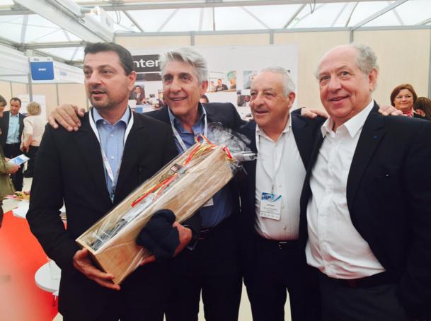 Jean Ghibaudo, Lucien Salemi, Boris Reibenberg et Jean-François Alexandre - Photo JdL