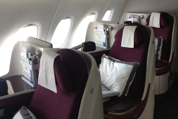 Qatar airways j 39 ai test pour vous le vol paris doha en a380 for Air france vol interieur