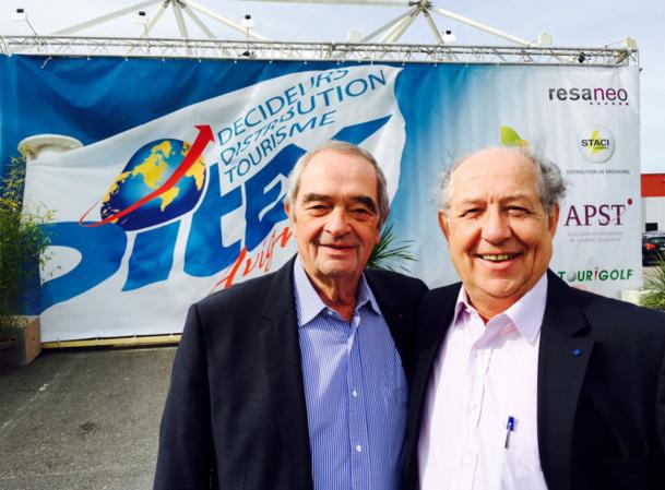 Georges Colson et Jean-François Alexandre sur le DITEX - Photo JdL
