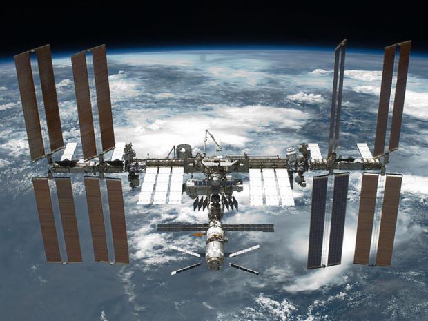 La Russie a annoncé son intention de construire en partenariat avec la NASA, une nouvelle station spatiale orbitale pour remplacer la Station spatiale internationale (ISS), dont l'exploitation était prévue jusqu'en 2024… - Photo NASA Wikipedia