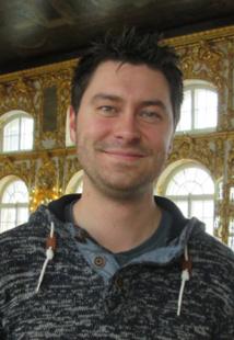 Thomas Méquinion (Tibo Tours à Lille). Dans la grande galerie du Palais Catherine à Pouchkine.