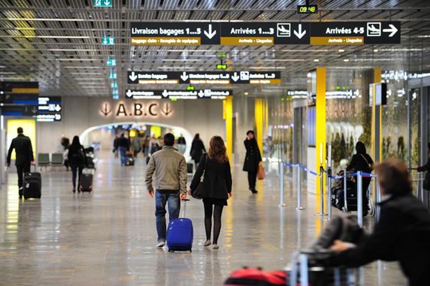 La nouvelle entrée principale de l'aéroport de Toulouse permet un accès plus rapide aux comptoirs d'enregistrement et aux postes de contrôle de sûreté : DR : Aéroport Toulouse-Blagnac