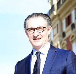 Jean-Luc Cousty est le nouveau DG de l'Hôtel du Palais - Photo @ Bertrand Lapègue