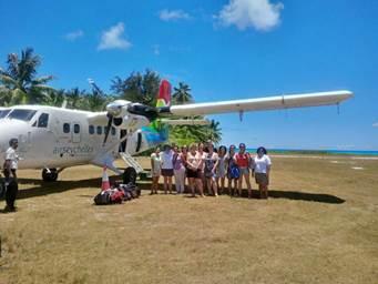 Passion des Îles a invité 10 agents de voyages en éductour aux Seychelles - DR : Passion des Îles