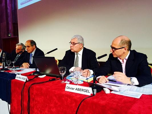 Le SNAV tient son Assemblée générale à Paris mardi 14 avril 2015 - Photo J.D.L.