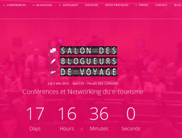 La 2e édition du Salon des Blogueurs Voyage aura lieu à Ajaccio les 4 et 5 mai prochain.