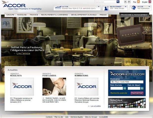 Fastbooking deviendrait la nouvelle filiale d'Accor. © Accor