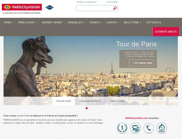 La RATP serait sur les rangs pour reprendre l'OpenTour Paris, et un fonds d'investissement reprendrait les excursions de Paris et la Marina de Paris - Capture écran