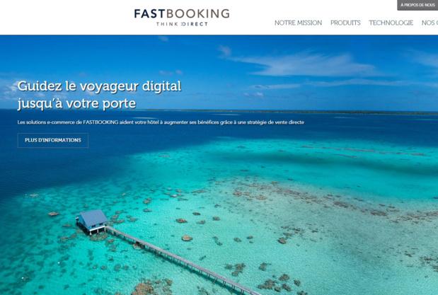 """""""La protection des données des hôtels clients de Fastbooking sera totalement garantie"""", précise le communiqué - DR : Capture d'écran Fastbooking"""