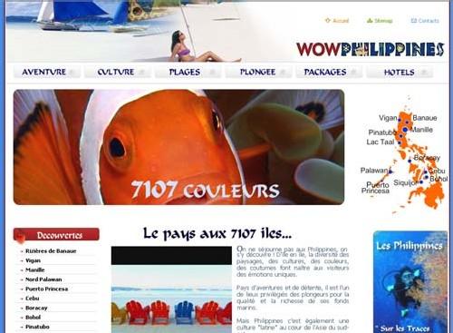 L'Office du tourisme des Philippines lance son site francophone