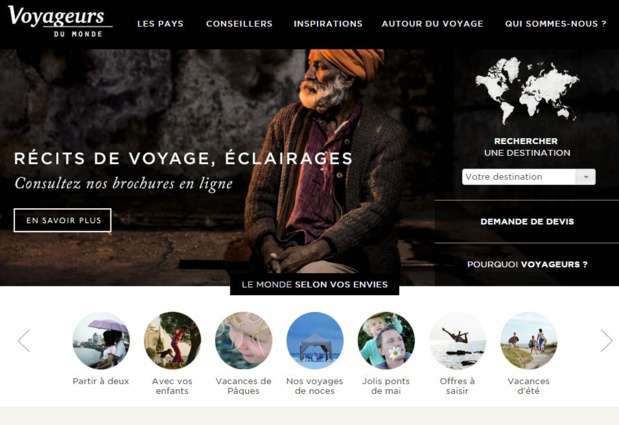 The group Voyageurs du Monde hopes to seduce French expats. DR-Voyageurs