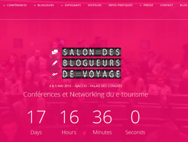 The 2nd edition of the Travel Bloggers Trade Show will take place in Ajaccio next May 4th and 5th.