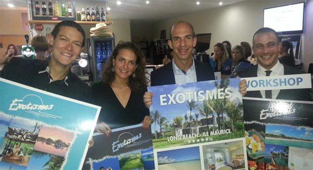 Du 10 septembre au 5 novembre 2015, Exotismes donne rendez-vous aux professionnels du tourisme, à travers la France - DR : Exotismes