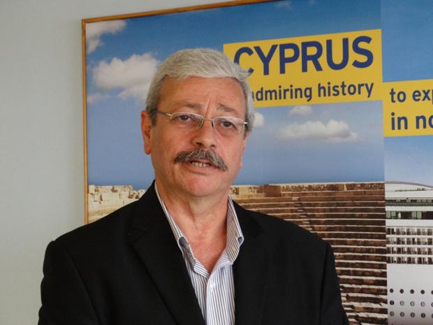 Doros Georgiades, responsable des marchés France, Europe de l'Est, Russie et Ukraine à l'Office du Tourisme de Chypre, constate un décollage de la fréquentation - DR : J-B.H.