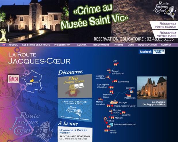 Le site de la route Jacques Cœur - DR
