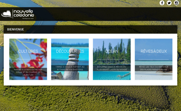 La nouvelle cal donie part en campagne sur le web - Office de tourisme nouvelle caledonie ...