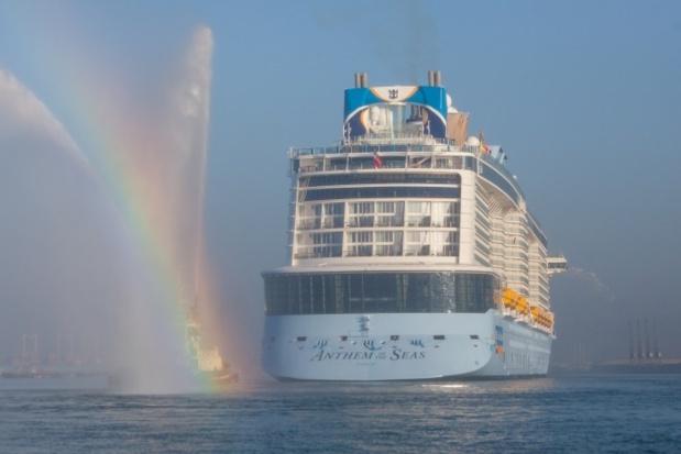 Royal Caribbean a procédé au baptême de l'Anthem of the Seas à Southampton - Photo : Royal Caribbean