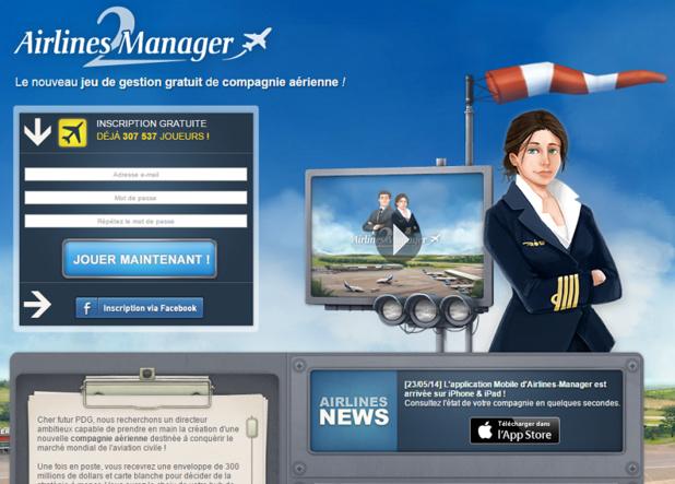 Airlines Manager est un jeu de gestion gratuit de compagnie aérienne - Capture d'écran