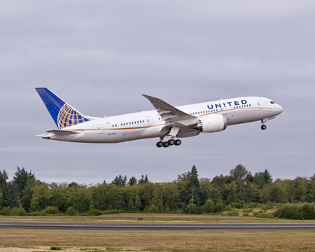 Les bénéfices de United Airlines se sont envolés au 1er trimestre 2015 - DR : United Airlines