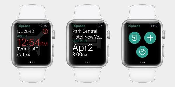 Le GDS Sabre rend son application mobile Tripcase disponible sur Apple Watch.