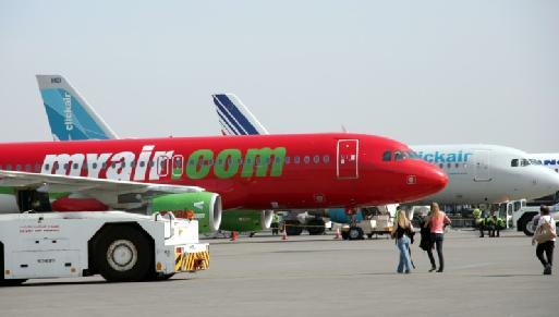 Les low cost fleurissent sur le tarmac de Marrakech, chassant les compagnies régulières (Cliquer pour agrandir)